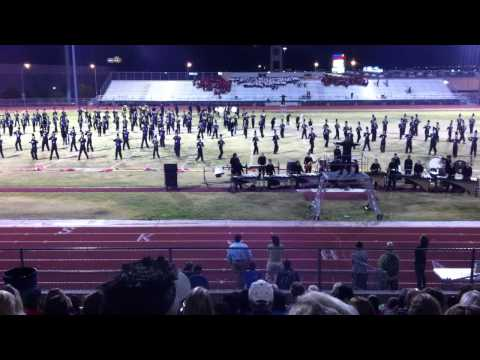 2012 Green Valley High School Marching Band at Silverado Showdown