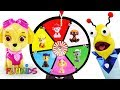 Learn Colors with Paw Patrol Spinning Game Surprise