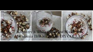 Raspberry & White Chocolate Mousse | Tinana Diy Collab!