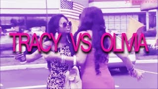 Jerseylicious - TRACY VS OLIVIA (Edited)