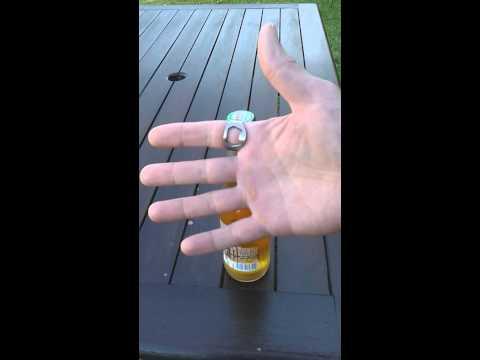 bottle opener ring mike 39 s shoe repairs youtube. Black Bedroom Furniture Sets. Home Design Ideas