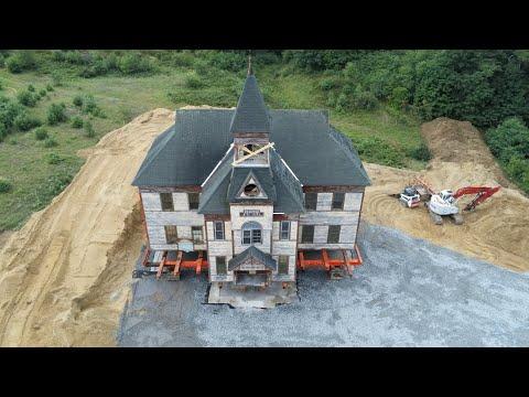 7/23/2020 Gale School, Belmont NH - Cleanup Begins