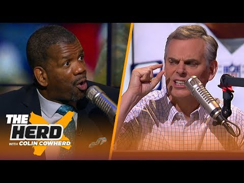 Rob Parker is not buying Dak as better Cowboys QB than Tony Romo, Talks KD vs. LeBron | THE HERD