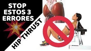 Errores frecuentes en Hip Thrust | Tip entrenamiento #50