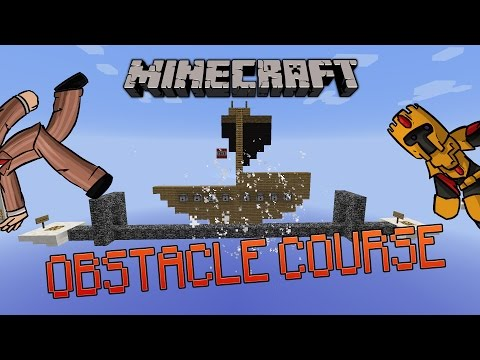 OBSTACLE COURSE : UNE MAP BIEN FUN-[Minecraft 1.8.8]