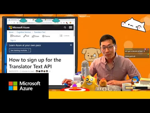How to work with the Azure Translator Text API | Azure Developer Streams
