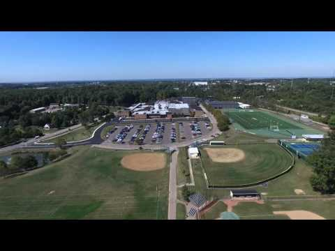 Sycamore High School Aerial Tour