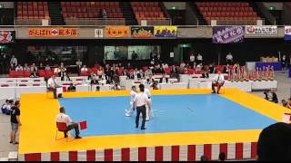 Бой Александра Аристова за бронзу чемпионата Японии