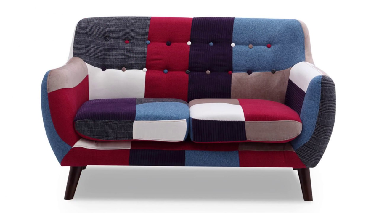 Entzückend Sofa Patchwork Referenz Von By Home Elements - Ideal For Small