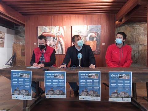 O Concello de Monterrei presenta a súa iniciativa para realizar o Camiño de Santiago