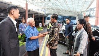 Presiden Joko Widodo Jenguk Ani Yudhoyono