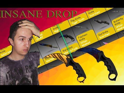 karambit Marble fade & Tiger Tooth : INSANE DROP - DrakeMoon