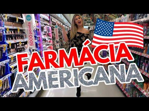 TOUR pela farmácia americana
