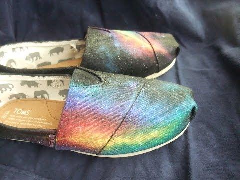 DIY Galaxy Shoe Tutorial!