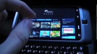 Yle Areenan ja Flash Player 10.2 toimivuuden testi. Käytössä HTC Desire Z Android puhelin.