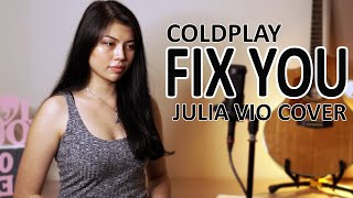 Coldplay - Fix You Cover By Julia Vio Acoustic