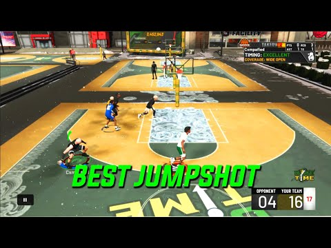 I FOUND THE BEST JUMPSHOT FOR CENTERS ON NBA 2K20! BEST JUMPSHOT FOR ALL BUILDS 2K20!