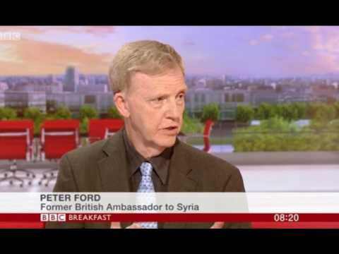 Ex UK Syria ambassador Peter Ford: Trump never said no to a uniform, British army in Syria illegally