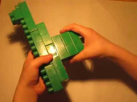 видео: Как сделать пистолет? (из конструктора bauer)