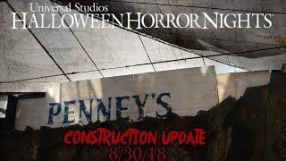 HHN 2018 Construction Update - 8/30/18