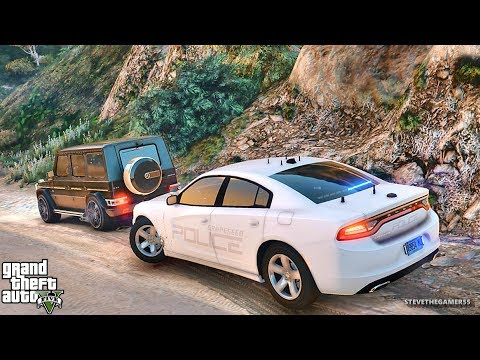 GTA 5 MODS LSPDFR 784 - GRAPESEED PATROL !!! (GTA 5 REAL LIFE PC MOD) CHARGER