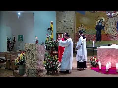 Santa Missa AO VIVO | Santuário Santa Rita de Cássia
