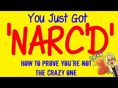 'NARC'D' with a one-sided phone call? How to prove you're NOT the crazy one