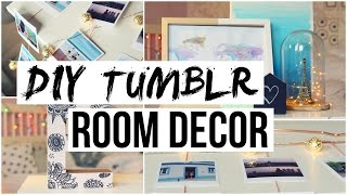 DIY Room Decor! Tumblr Inspired!