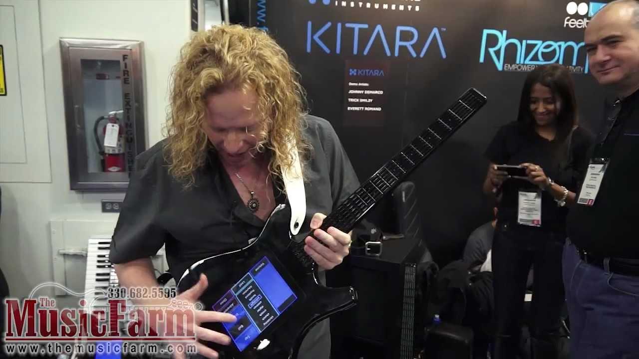 Winter NAMM '12 - Misa Digital Kitara Digital Guitar - YouTube