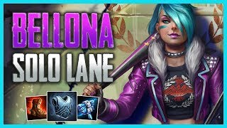 SMITE Conquest: Bellona Solo (Gameplay Guide) | How To Proxy and Build a Lead!