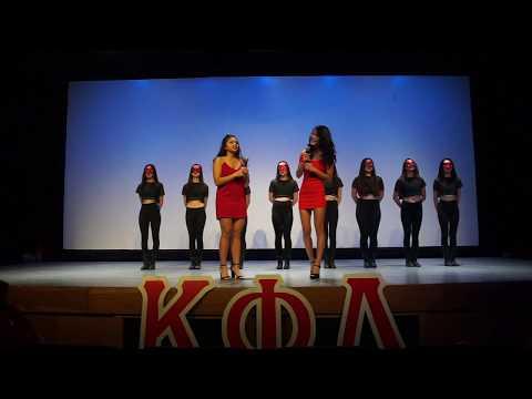 UT Kappa Phi Lambda - Omicron Class Probate Fall 2017