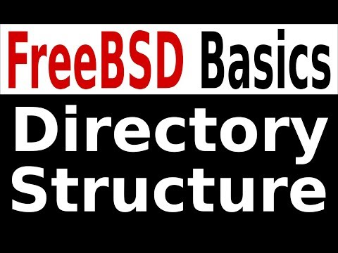 FreeBSD Basics: Directory Structure