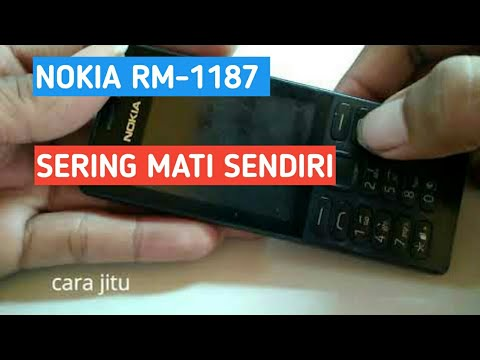 Cara Simple dan Mudah Memperbaiki HP Nokia 1280 Mati Total.