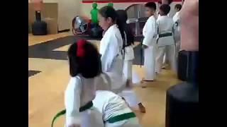 Kids Martial Arts Class Video - Green Belts Class @ Sidekicks San Diego