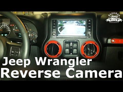 Jeep Wrangler Reverse Camera Installation