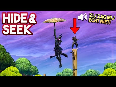 HIDE AND SEEK #7!! - Fortnite Playground (Nederlands)