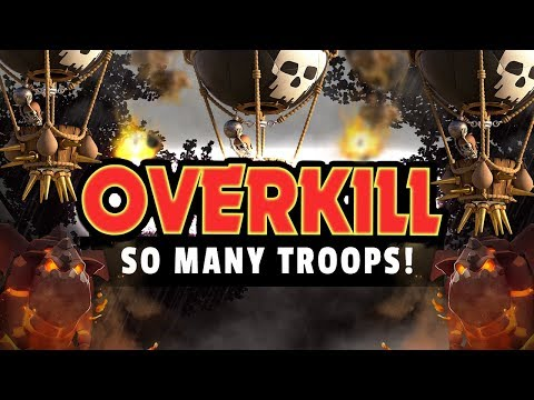 SO MANY TROOPS LEFT! TH9 OVERKILL THROUGH THE AIR!