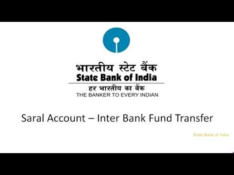 SBI Corporate Internet Banking Saral: Inter Bank Fund Transfer (Video Created as on September 2016)