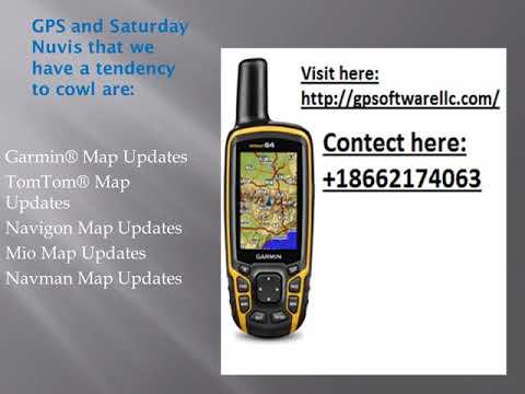 TomTom Navigon Mio Map Navman Garmin GPS Update