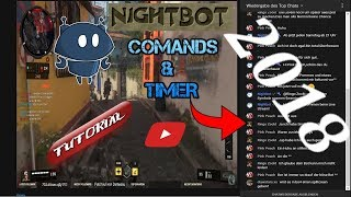 Nightbot Commands Tutorial German