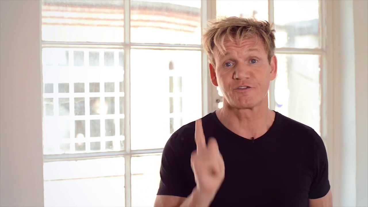 Gordon Ramsay talks about his new book Ultimate Home Cooking - YouTube