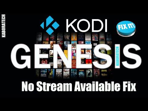 Genesis  No Stream Available    Fix       Tweaks  Hosts Order