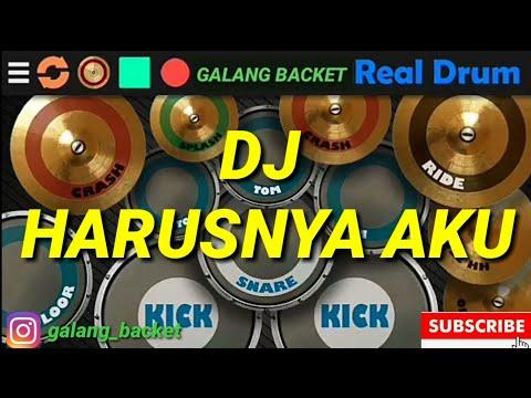 dj-harusnya-aku-yang-disana-remix-terbaru-2019-mp3-real-drum-(cover-by-galang-backet)