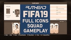 FIFA 19 CAPTURE EVENT: FULL ICONS SQUAD DIVISION RIVALS GAMEPLAY V FOOTBALL QUEENY