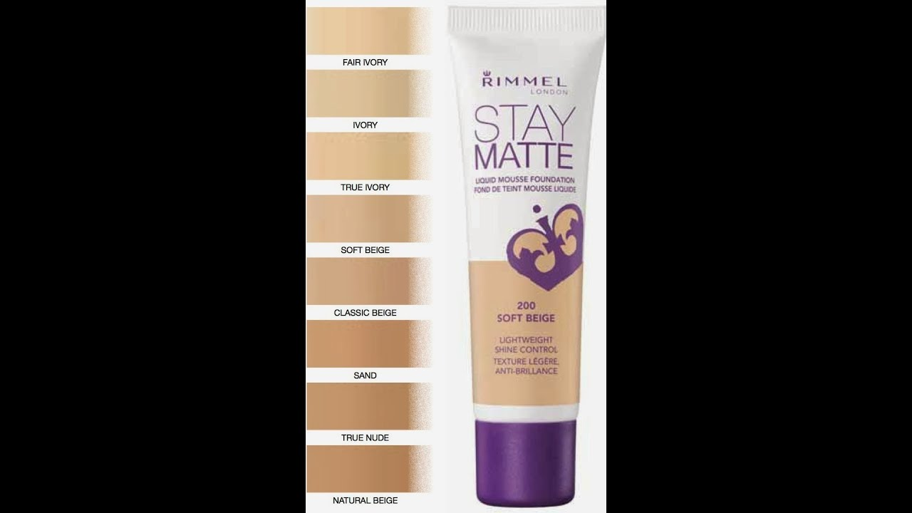 "First Impression: Rimmel ""Stay Matte"" mouse foundation ..."