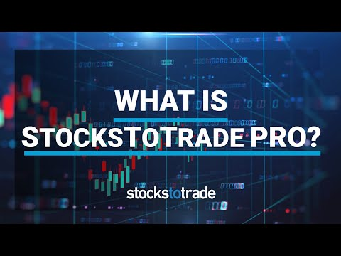What Do You Get with StocksToTrade Pro?