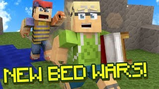 NEW Minecraft Bed Wars Capture Mode + BETA Item Shop!
