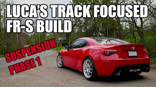 FR-S GETS A BUNCH OF SUSPENSION UPGRADES