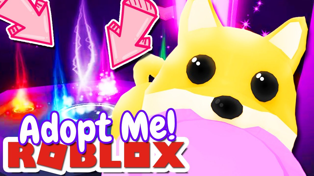 Roblox Adopt Me Pets Toys Neon Glowing Pets Pet Toys More Update Adopt Me Roblox Youtube