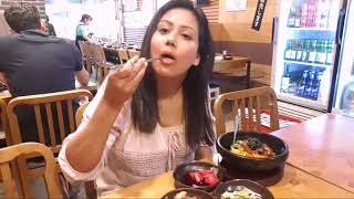 Korean Vegetarian food Issue - Mamta Sachdeva Hunting Vegetarian Food?
